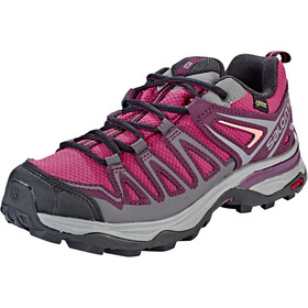 Salomon X Ultra 3 Prime GTX Shoes Damen malaga/potent purple/desert flower